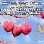 Imágenes bonitas con frases de amor  para compartir en San Valentin