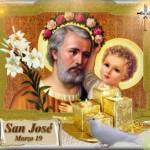 Imágenes bonitas del Día de San José para descargar y compartir el 19 de marzo