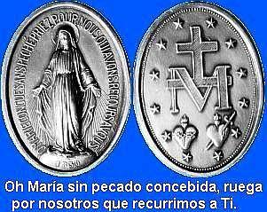 Oh María sin pecado concebida, ruega por nosotros que recurrimos a Ti.