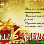 Imágenes con dedicatorias Navideñas y frases bonitas para Navidad