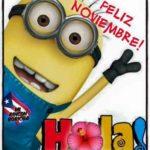 Imágenes con frases y mensajes bonitos de Bienvenido Noviembre y Felíz Noviembre