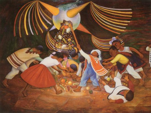 navidadmexicopinatadiego-rivera