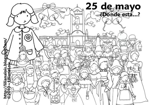 Imágenes De La Gesta De Mayo época Colonial Y Vendedores Ambulantes