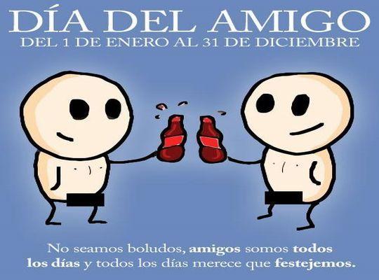 Imagenes Con Mensajes Bonitos Para El Dia Del Amigo