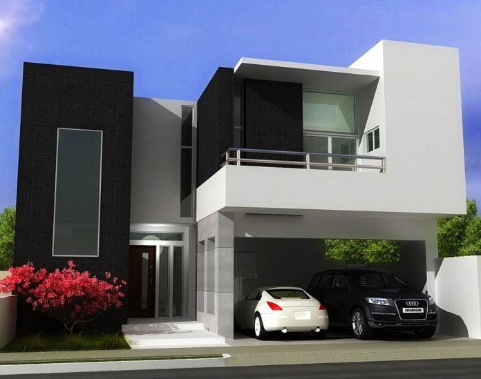 imgenes bonitas de fachadas de casas modernas - Fachadas Modernas De Casas