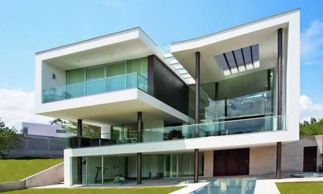 Im genes bonitas de fachadas de casas modernas for Casa moderna ma calda