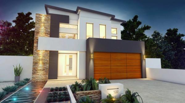 Im genes bonitas de fachadas de casas modernas for Casas modernas de dos pisos 2017