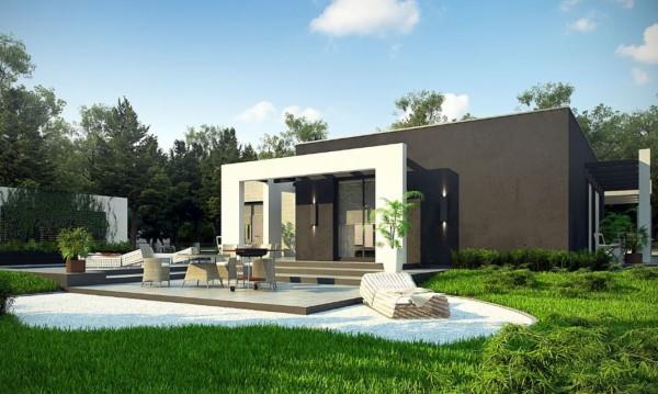 Im genes bonitas de fachadas de casas modernas for Fachadas de casas de una sola planta