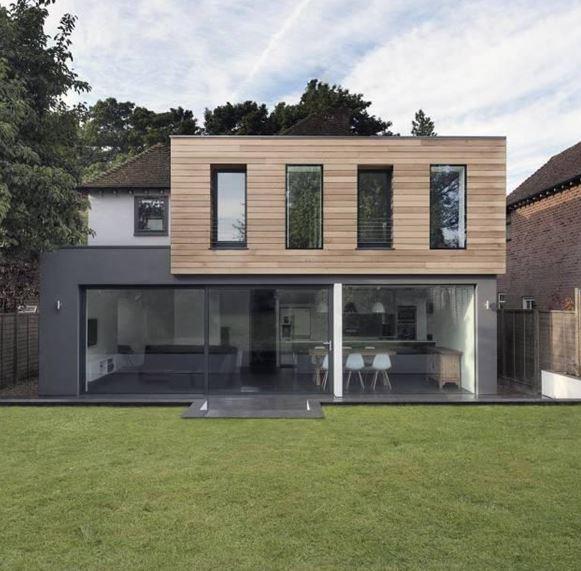 Im genes bonitas de fachadas de casas modernas for Ideas de casas modernas