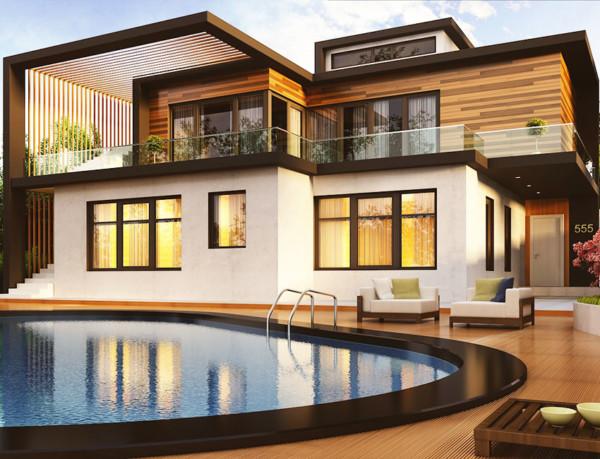 Casas coreanas del sur modernas seokpajeong hoy en da un for Casa moderna corea