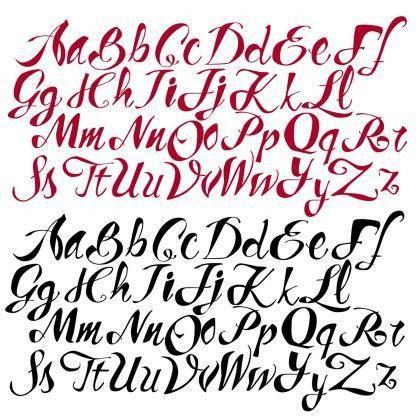 Imágenes De Letras Para Imprimir Bonitas Góticas Decorativas A