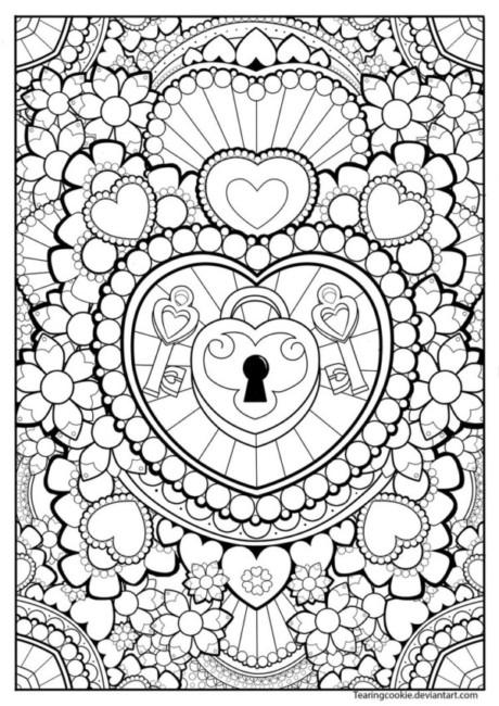 Bonitas Mandalas Para Colorear Descargar E Imprimir - Mandalas-sin-pintar