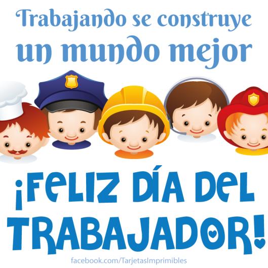 Feliz Día Del Trabajador Imágenes Frases Mensajes Bonitos Del