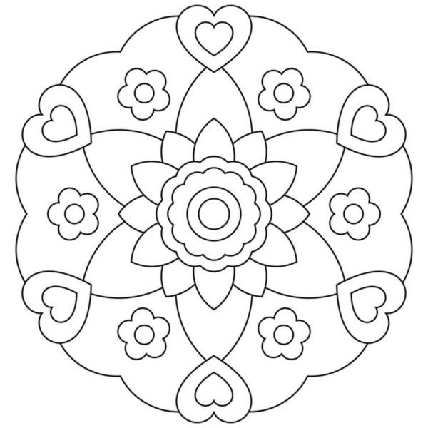 Bonitas Mandalas Para Colorear Descargar E Imprimir