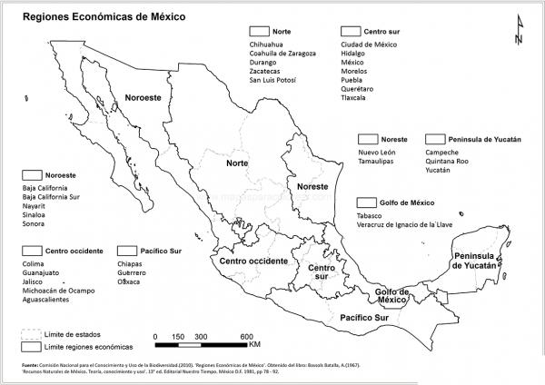 Mapa De México Imágenes Para Colorear Descargar E Imprimir
