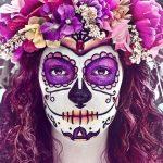 Maquillaje de Catrina para Halloween y Día de Muertos