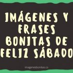 Imágenes y Frases Bonitas de Feliz Sábado